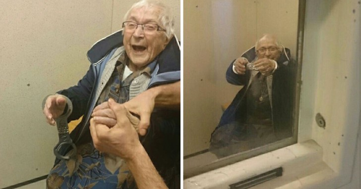 Une femme de 99 ans se rend à la police: les agents ne peuvent que satisfaire sa demande!