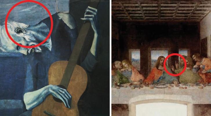 Zijn jou deze verborgen details in deze beroemde kunstwerken opgevallen?