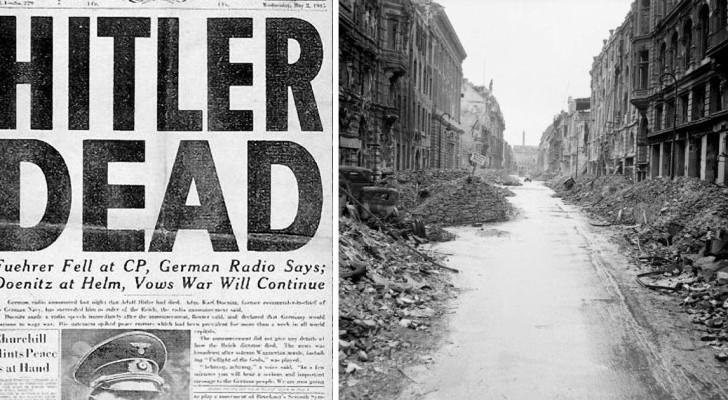 8 choses étonnantes qui se sont produites tout de suite après la mort d'Adolf Hitler