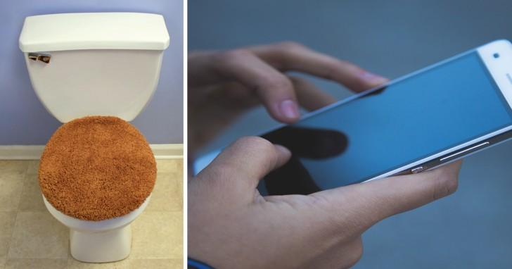 Téléphone et toilettes: l'habitude (dégoûtante) que nous devrions abandonner immédiatement