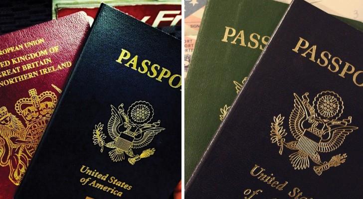 Weet je waarom er maar 4 soorten kleuren voor paspoorten worden gebruikt in de wereld?
