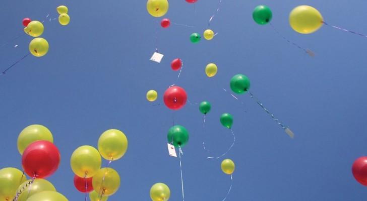 Il motivo per cui non dovresti mai liberare i palloncini in aria? Non ci avevi mai pensato