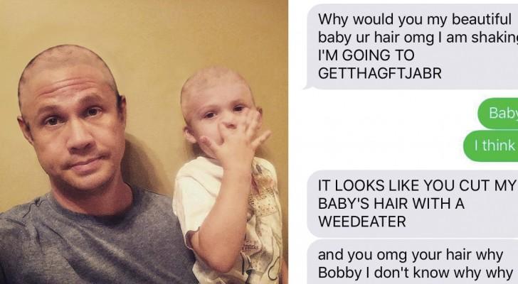 Chiede alla moglie di rimandare la foto di famiglia: quando lei chiede il perché riceve QUESTO messaggio