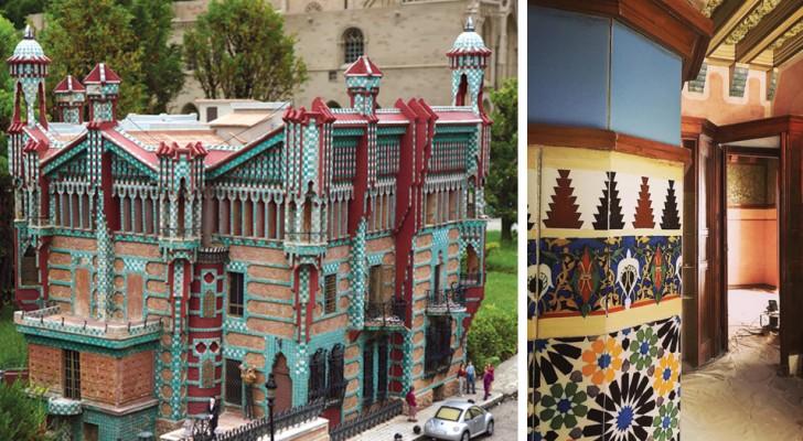 Das erste Meisterwerk von Gaudì ist endlich offen für Publikum: Casa Vicens