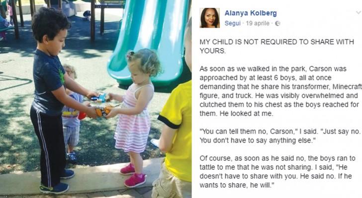 Eure Kinder müssen keine Spielsachen mit anderen Kindern teilen. Diese Mutter erklärt, warum