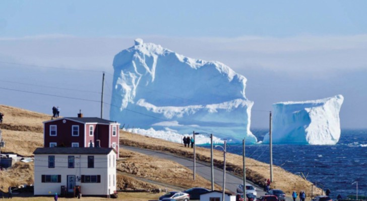 Un iceberg gigantesco
