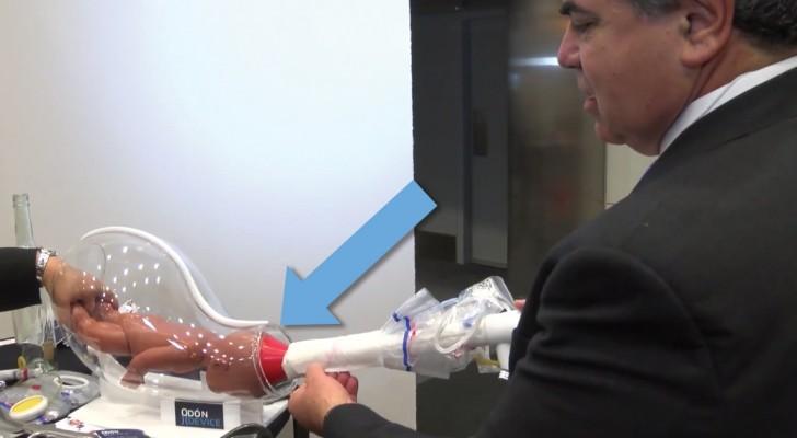 Un meccanico inventa uno strumento salva vita che sostituisce il forcipe: ecco come funziona