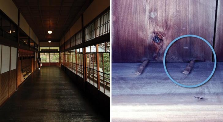 Il sistema usato nell'antico Giappone contro i ladri: un pavimento dotato di un inusuale antifurto