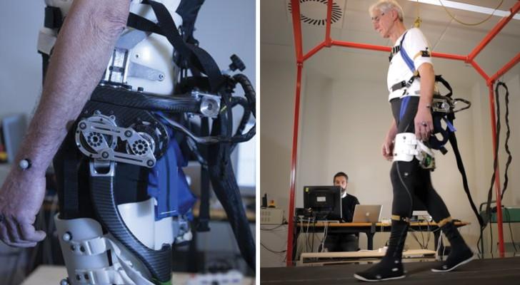 Een draagbaar exoskelet dat bejaarden en gehandicapten kan helpen lopen komt eraan