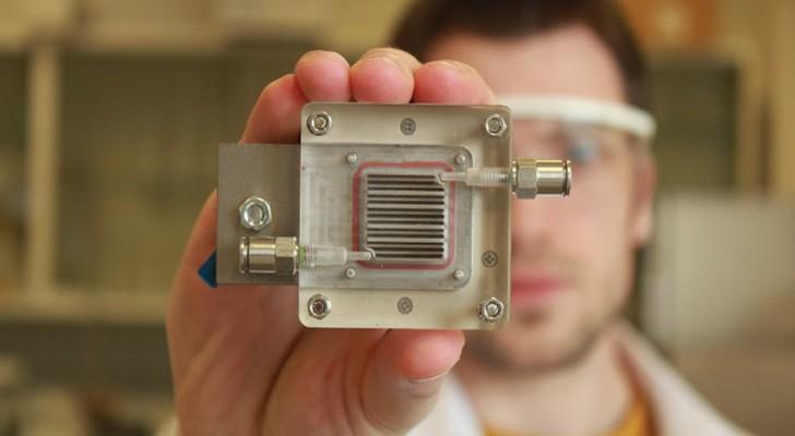 Waterstof uit vervuilde lucht halen is mogelijk door dit apparaatje