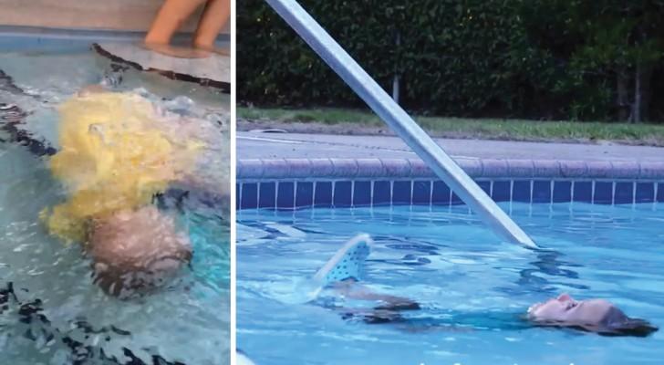 La méthode ISR qui sauve la vie des enfants qui tombent dans l'eau: regardez en action pour comprendre son importance