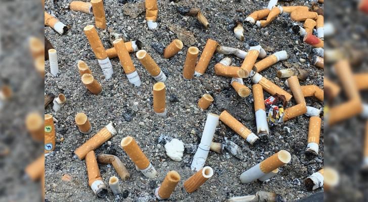 Les cigarettes polluent plus que les voitures:  des associations proposent une interdiction TOTALE de la cigarette sur les plages