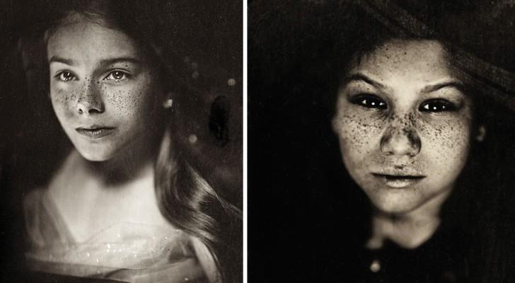 Deze fotografe gebruikt een 166 jaar oude techniek om kinderen te portretteren: het resultaat is betoverend