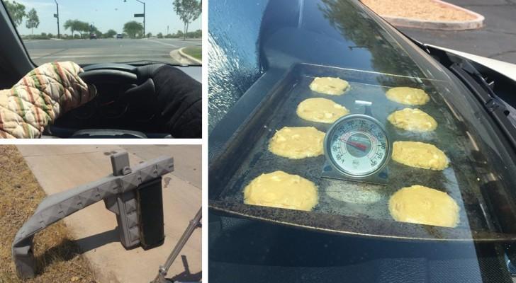 Die Temperaturen in Arizona sind so heiß, dass alles zu schmelzen beginnt