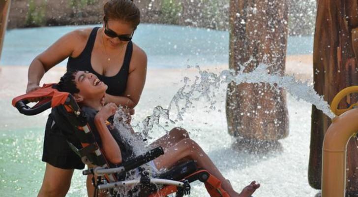 Le premier parc aquatique pour handicapés a ouvert... et c'est la plus belle chose du monde!