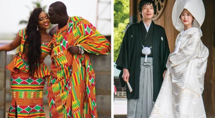 Voici à quoi ressemblent les robes de mariée dans les différentes parties du monde