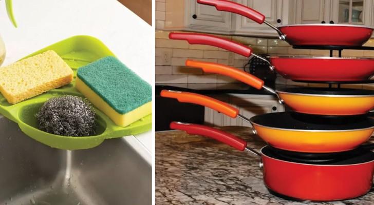 14 oggetti economici che terranno in ordine la vostra cucina