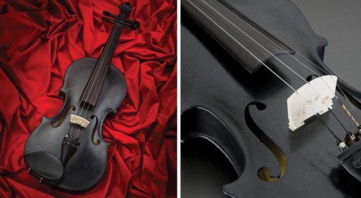 Deze SPEELBARE viool is gemaakt van 1,5 miljard jaar oud gesteente