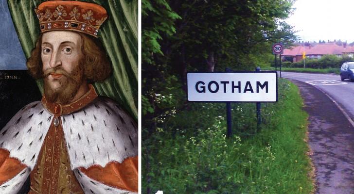 De echte geschiedenis van Gotham City: inwoners deden alsof ze gek waren om de koning te foppen