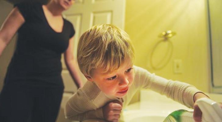 Een onderzoek toont aan hoe kinderen zich slechter gedragen bij hun moeder dan bij ieder ander