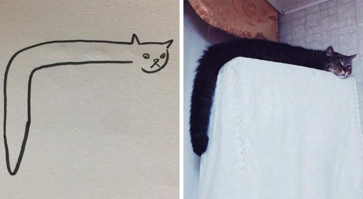 Quand votre prof dit que vous ne savez pas dessiner les chats alors que vous faites des dessins hyperréalistes