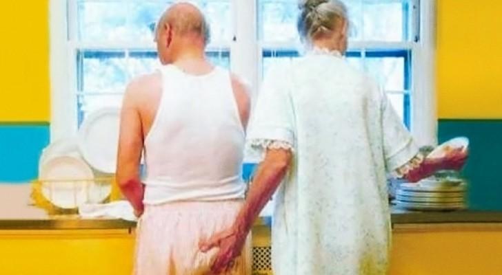 16 foto's die laten zien dat je nooit te oud bent voor liefde