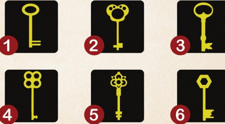 Avec quelle clé ouvriez-vous le coffre de votre conscience? Voici ce que votre choix signifie