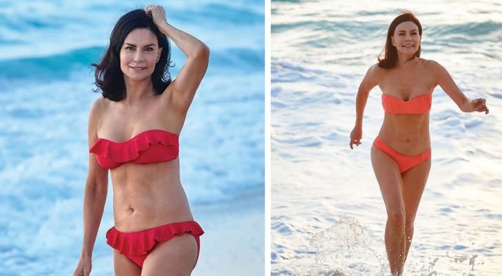 Cette grand-mère de 70 ans a révélé son secret pour un corps parfait, mais le web ne la croit pas.