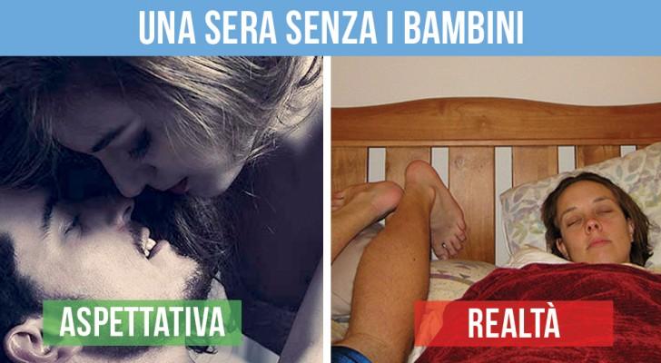 Vita in famiglia: aspettative vs. realtà
