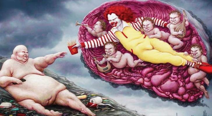 28 Illustrationen die die grausame Realität der Welt erklären
