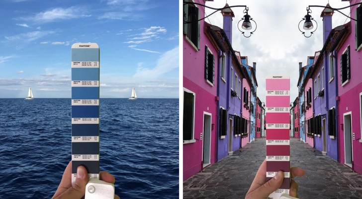 Een Italiaanse ontwerper gaat de wereld rond om het Pantone kleurenpalet te vinden in steden en landschappen