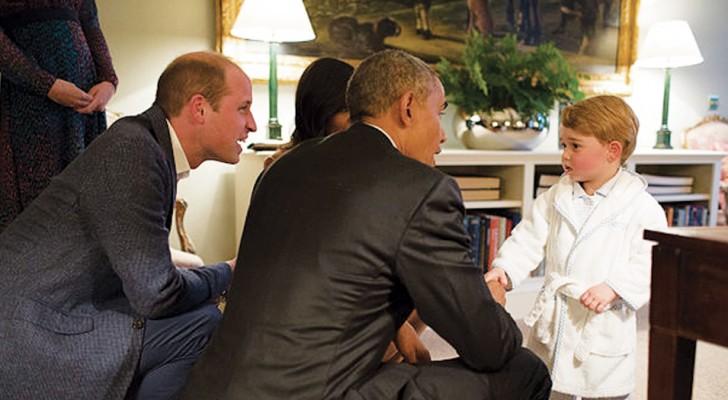 Warum kniet sich Prince William hin, um mit seinem Sohn zu sprechen? Hier die Antwort der Entwicklungspsychologen