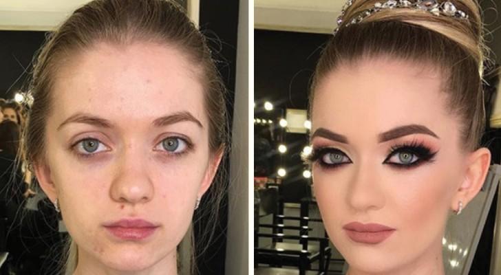 Le pouvoir du maquillage : 16 photos