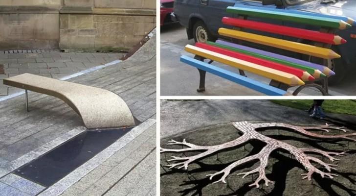 27 bancs au design original que vous aimeriez voir dans votre ville