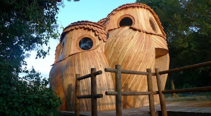 Vous pouvez dormir dans ces hiboux en bois GRATUITEMENT et visiter le sud de la France: découvrez leur intérieur.