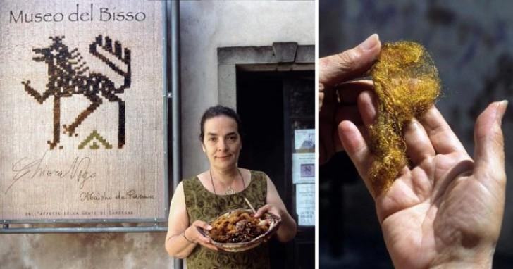 L'ultima donna al mondo in grado di lavorare la rarissima e preziosa seta di mare
