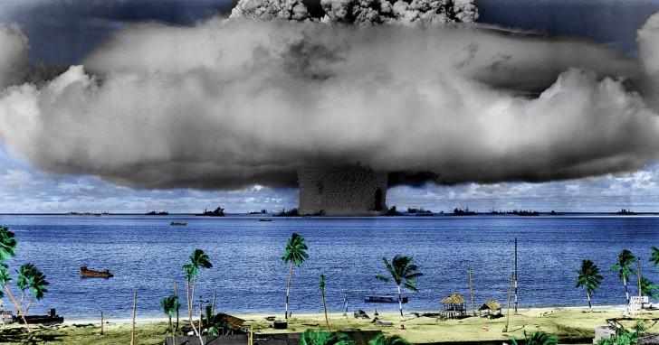 Was würde mit der Welt passieren, wenn eine Wasserstoffbombe im Pazifik explodieren würde?