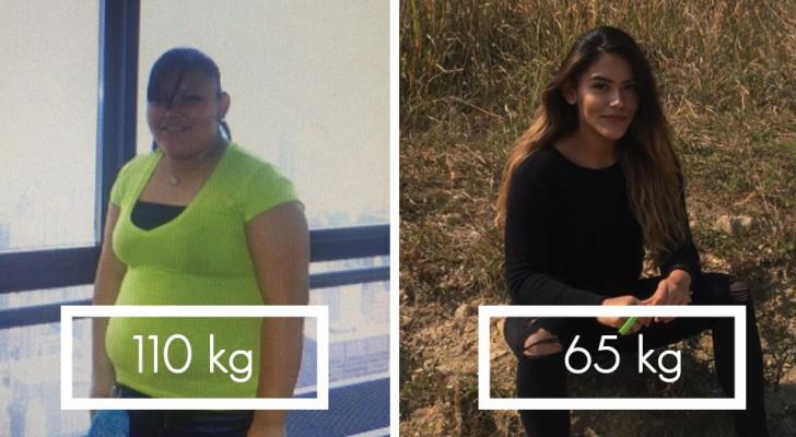 Elle pesait plus de 100 kg: cette fille montre comment 2 ans d'entraînement ont transformé son corps
