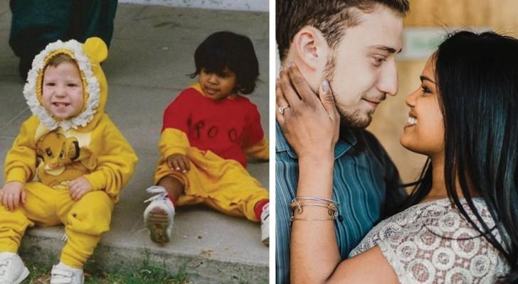 Si sono conosciuti all'asilo: quando si sono rincontrati 20 anni dopo hanno realizzato una vecchia promessa
