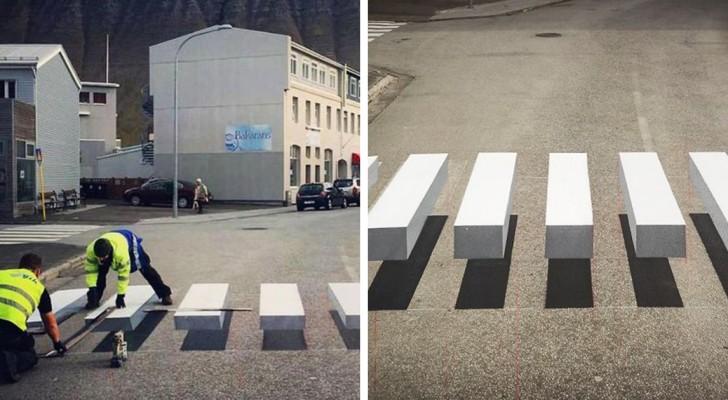 Questa città d'Islanda è passata alla segnaletica stradale