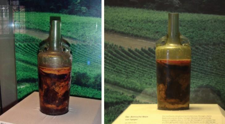 Les Romains l'ont mise en bouteille en 350 après J.C,  voici la plus vieille bouteille de vin scellée au monde