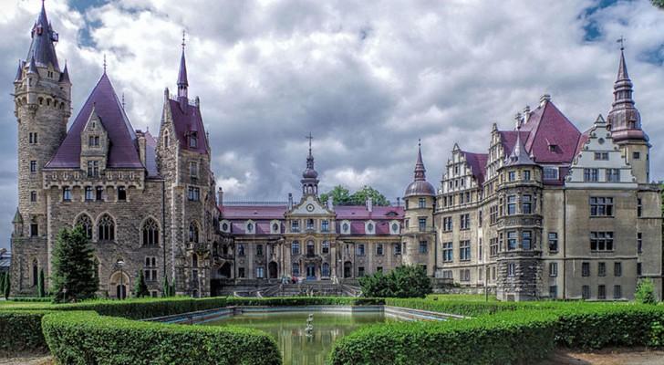 Il Castello di Moszna: uno dei castelli più belli del mondo che quasi nessuno conosce
