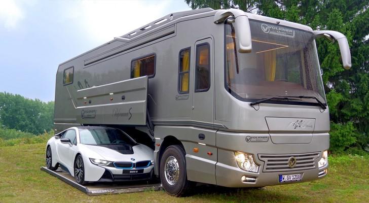 Deze camper van 2 miljoen is een technologisch pareltje. Neem een kijkje binnen!