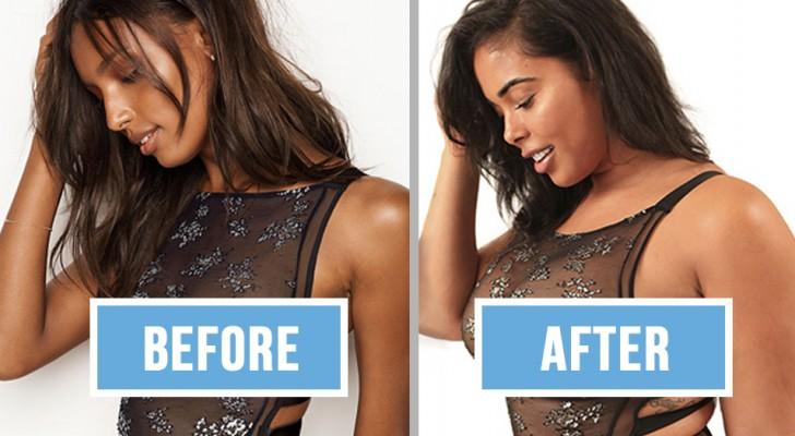 Un mannequin curvy recrée les photos de Victoria's Secret... et le résultat est éloquent