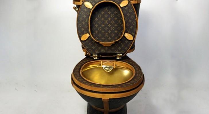 Il construit des toilettes Louis Vuitton et les met en vente: son prix est stupéfiant