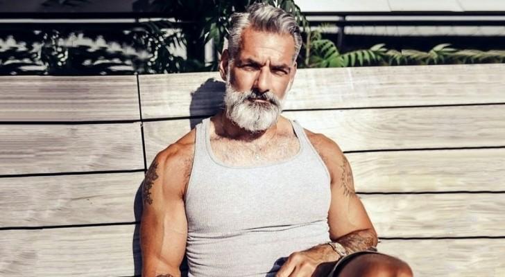 21 hommes conscients du charme des cheveux gris.... auxquels il est impossible de résister
