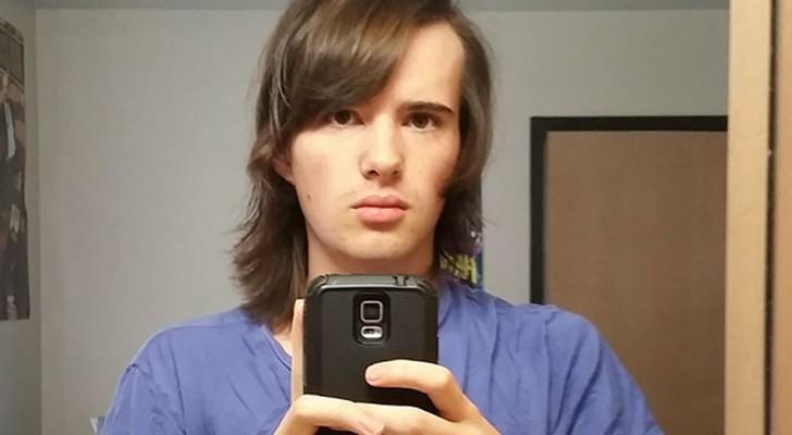 Un garçon montre sa transformation en femme après 17 mois: la dernière photo n'a pas besoin de commentaires
