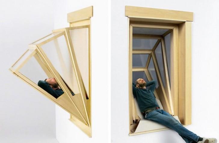 Queste originali finestre espandibili vi permetteranno di affacciarvi in un modo del tutto nuovo