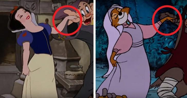 Tutte le volte in cui la Disney ci ha ingannati riutilizzando i disegni di vecchi cartoni animati