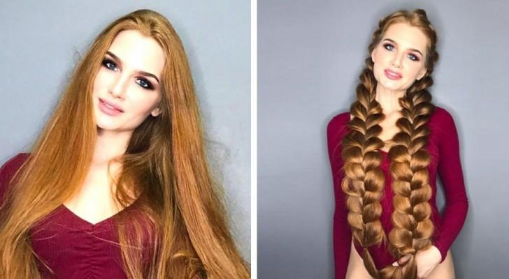 Adolescente, elle souffrait d'alopécie: maintenant, elle prodigue des conseils pour prendre soin de ses cheveux